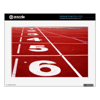 Running track Netbook Small (8.4 x 5.5) skin Decals For Netbooks
