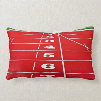 Running Track Pillow/Cushion Lumbar Pillow