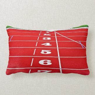 Running Track Pillow/Cushion Throw Pillow