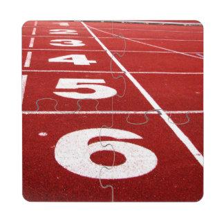 Running Track Puzzle Coaster