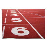 Running track placemats