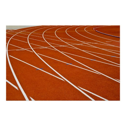 running track posters