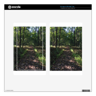 Running Trails are the best Trails Kindle Fire Skins