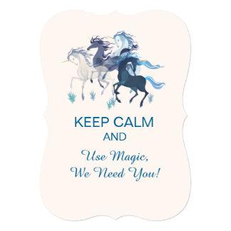 Running Unicorns Invitation Bracket