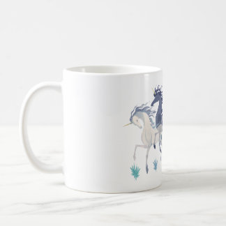 Running Unicorns mug