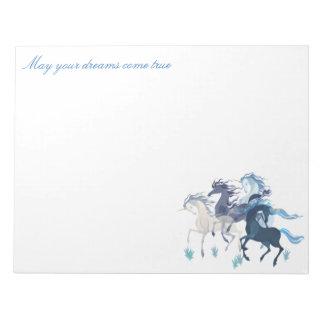 Running Unicorns, notepad