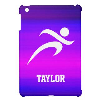 Running; Vibrant Violet Blue and Magenta iPad Mini Cases