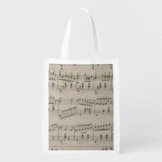 Running Waltz Reusable Grocery Bag