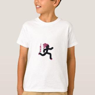 Running Warrior (purple) T-Shirt