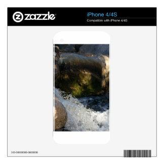 Running water iPhone 4S decals