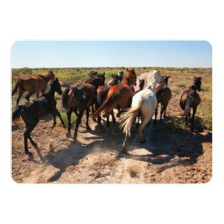 Running Wild Horses Card