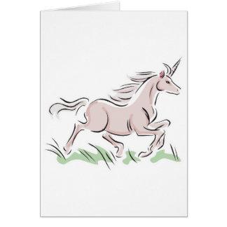 running wild pink unicorn cards