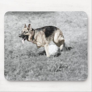Running with a Ball Mouse Pad