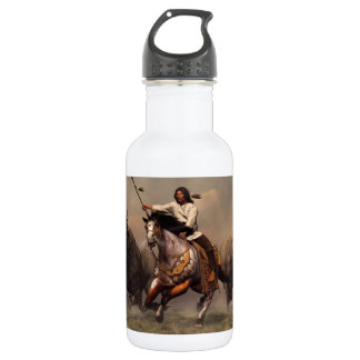 Running With Buffalo Stainless Steel Water Bottle