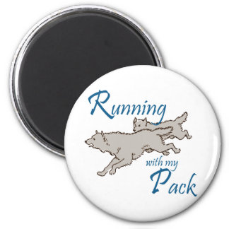 Running with my Pack Magnets
