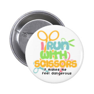 Running With Scissors Pins