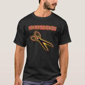 Running with scissors. T-Shirt
