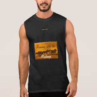 Running with the Mustangs Sleeveless Shirt