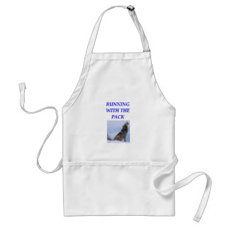 running with the pack apron