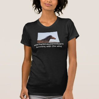 Running with the wind t-shirts