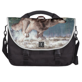Running Wolf Bag For Laptop