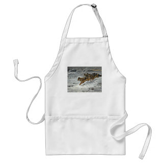 Running Wolf Pack Apron