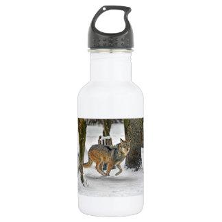 Running Wolf 18oz Water Bottle