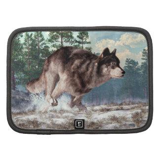 Running Wolf Organizer