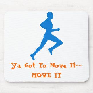 runningman, Ya Got To Move It--MOVE IT Mouse Mat