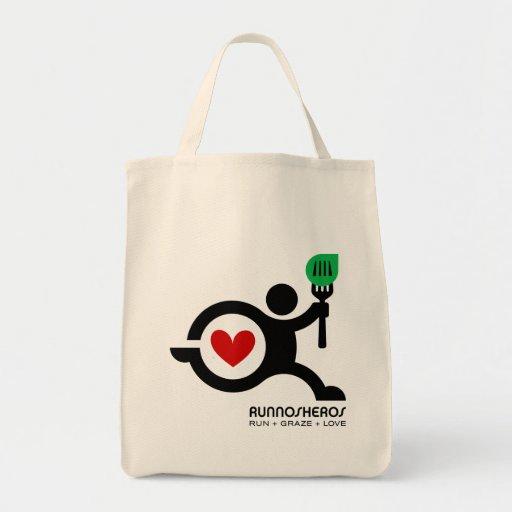 Runnosheros Icon Tote Bag