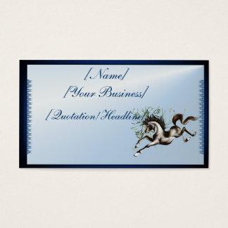 Runnung Horse profilecard_business_horizontal, ... Business Card