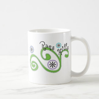 Runs Hills - Unique Runner Gift Coffee Mug