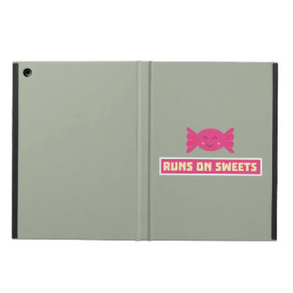 Runs in Sweets funny Z9s1b iPad Air Case