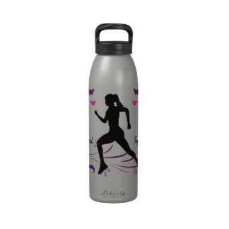 Runs Like A Girl Liberty Bottle Drinking Bottle