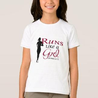 Runs Like a Girl T-Shirt