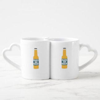 Runs on Beer Bottle Zcy3l Coffee Mug Set