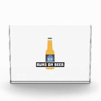 Runs on Beer Z7ta2 Acrylic Award