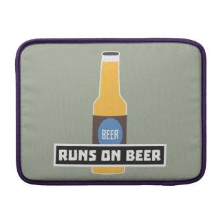 Runs on Beer Z7ta2 Sleeve For MacBook Air