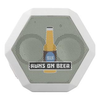Runs on Beer Z7ta2 White Bluetooth Speaker