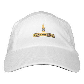 Runs on Beer Zmk10 Headsweats Hat