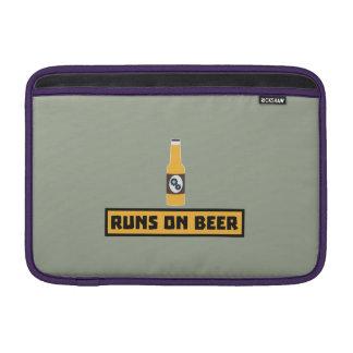 Runs on Beer Zmk10 MacBook Air Sleeve