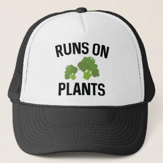Runs On Plants Trucker Hat