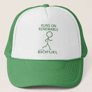 Runs On Renewable Biofuel Trucker Hat