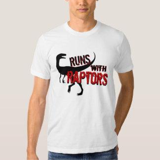 RUNS with RAPTORS T-shirt