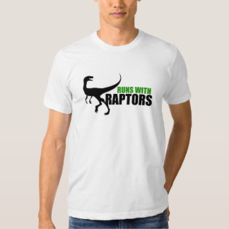 RUNS with RAPTORS Tee Shirt