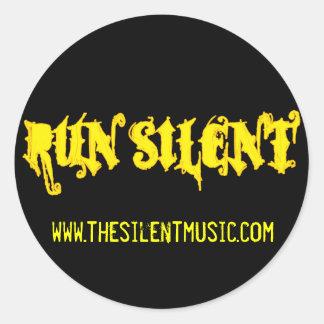 RunSilent 021308 Reverse Stickers