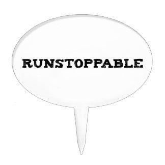 Runstoppable Decoración Para Tarta