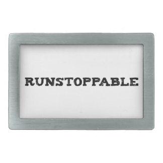 Runstoppable Hebilla De Cinturon Rectangular
