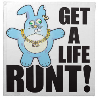 Runt Bad Bun Life Cloth Napkins