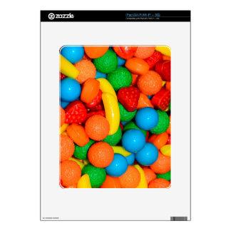 Runts Fruit Candy Pattern - 80s Kids iPad Skin